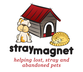Stray Magnet | Helping Lost, Stray, and Abandoned Pets logo