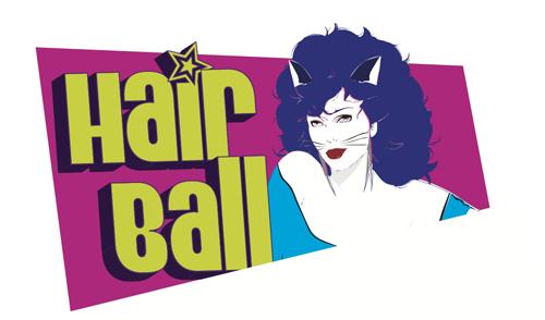 hair ball logo
